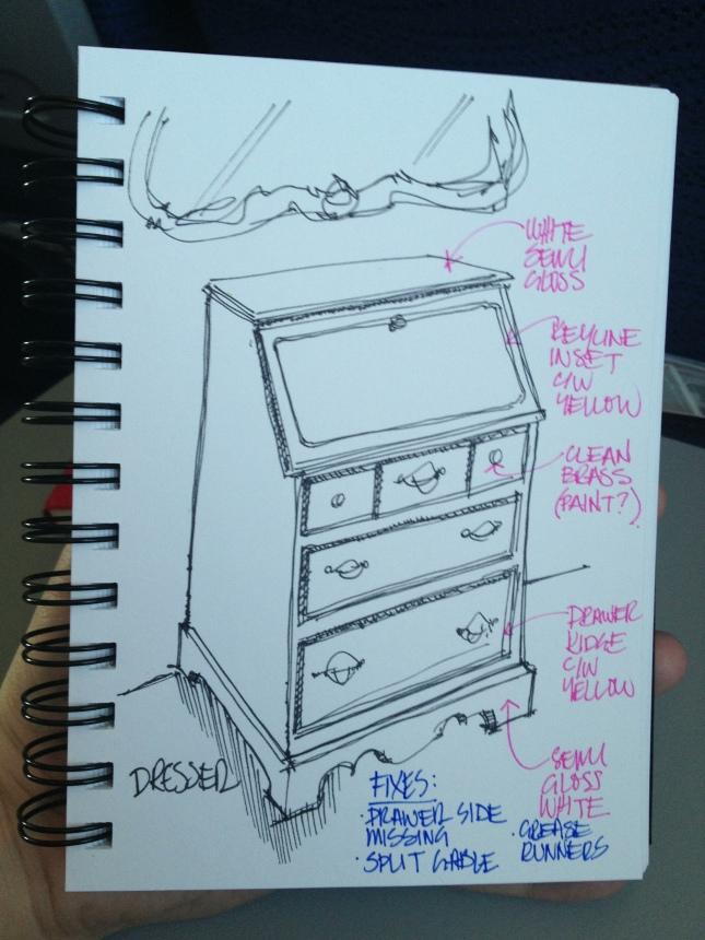 Secretary Sketch