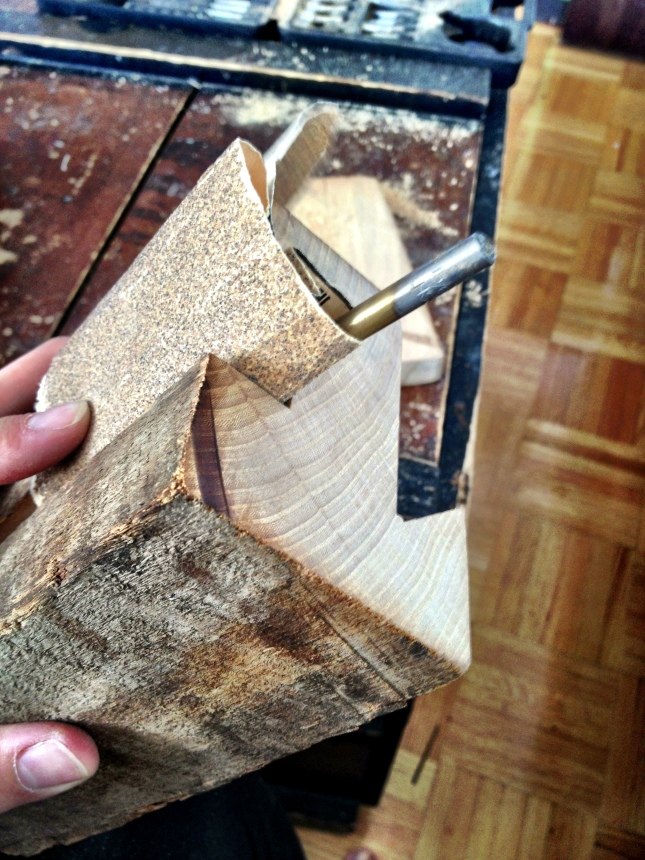iPhone groove sanding