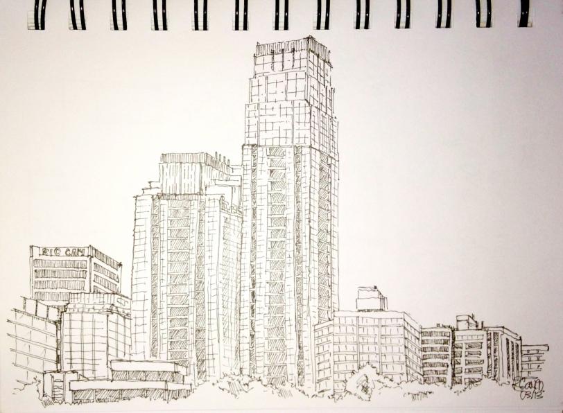 Urban Sketches - Yonge & Eg