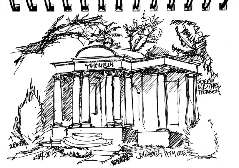 Thomson Tomb - Mt Pleasant Cemetary