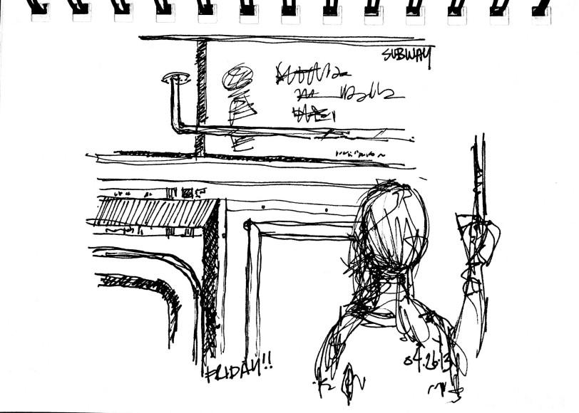 Subway sketch