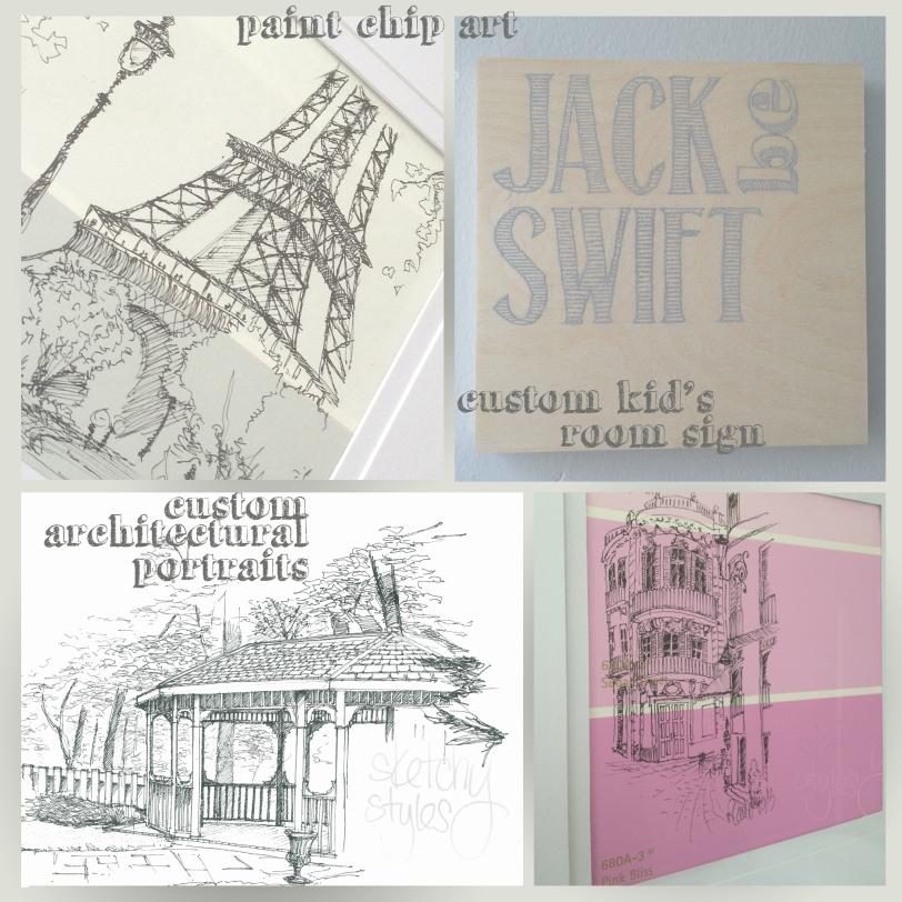 Sketchy Styles Etsy Store