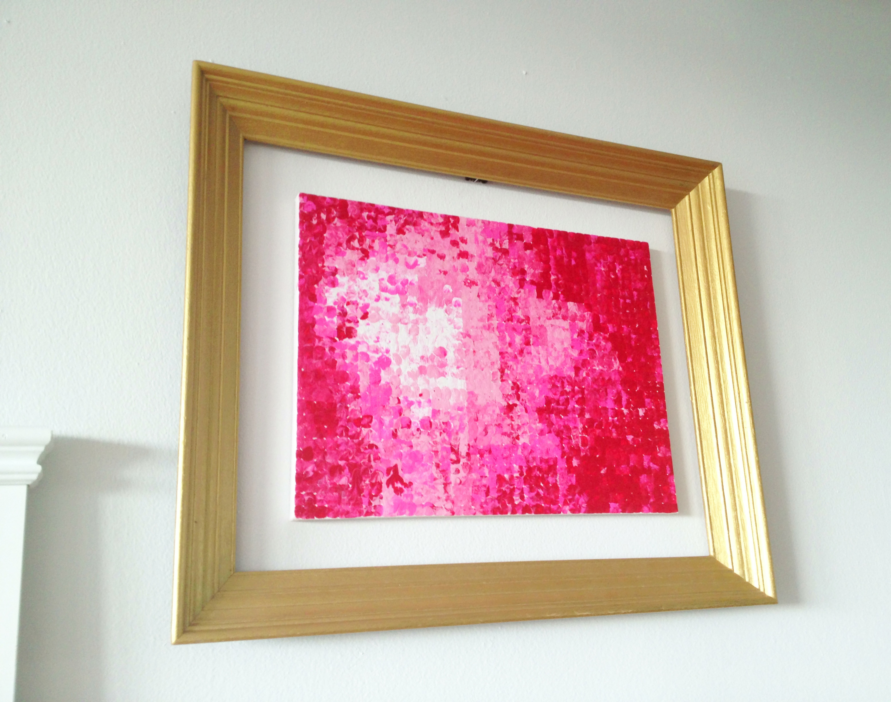 PIXILATED ART FRAMED