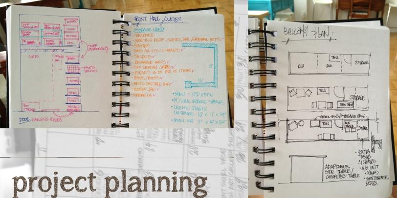 Sketchbook Tour - Project Planning