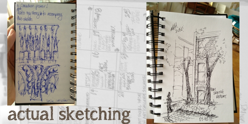Sketchbook Tour - Sketches