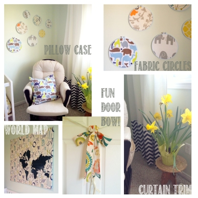 Nursery Fabric projects