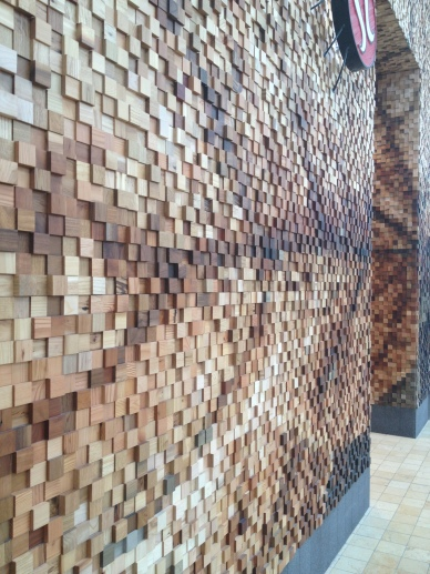 WOOD TEXTURE STOREFRONT