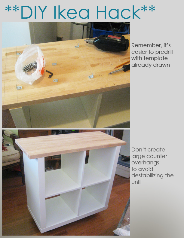 ikea hack diy kitchen island tutorial sketchy styles