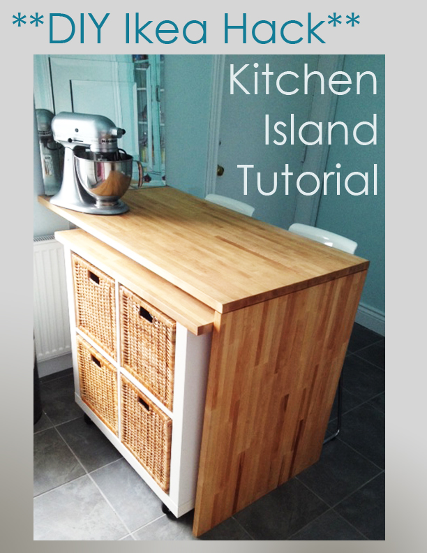 DIY Ikea Hack   Kitchen Island Tutorial