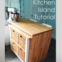 Ikea Hack - DIY Kitchen Island Tutorial