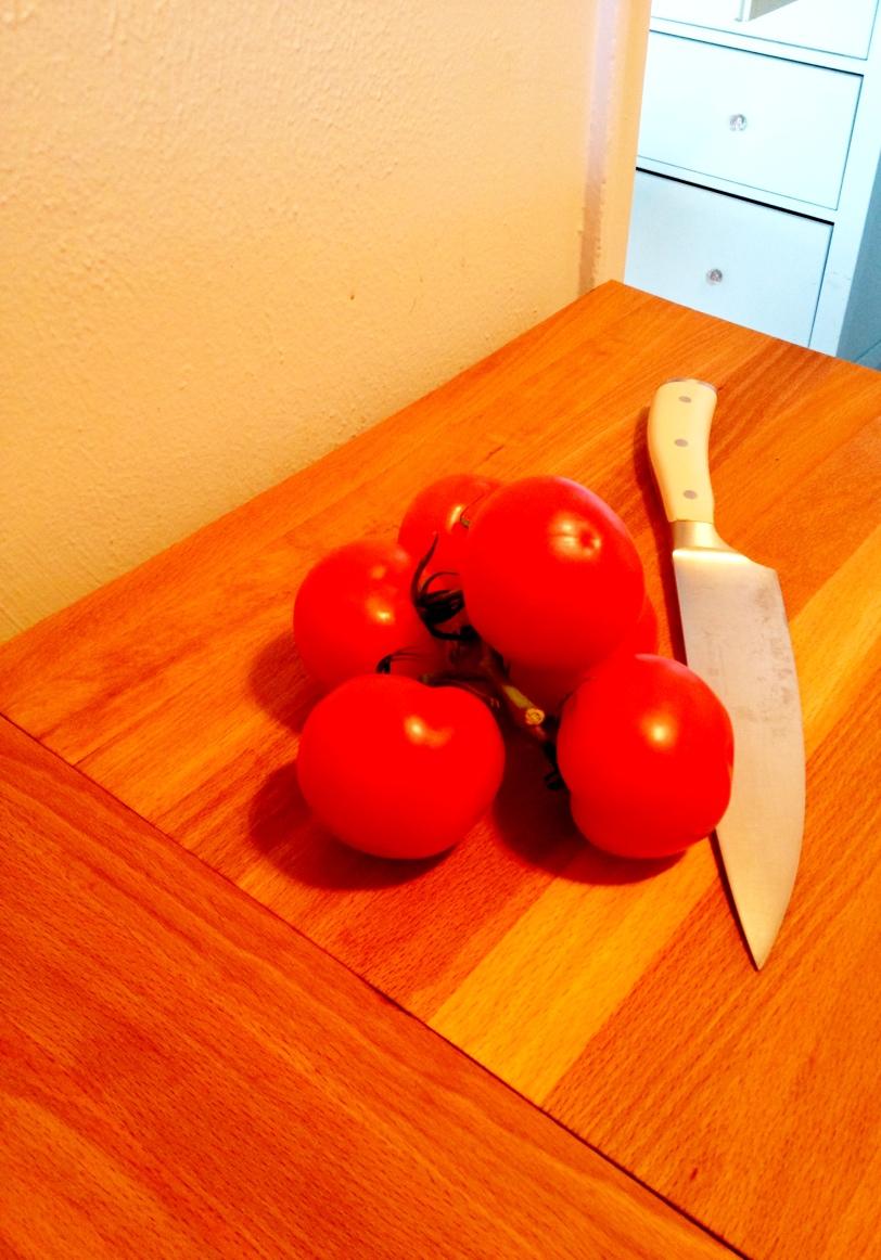 Metro Shelf Countertop - with food
