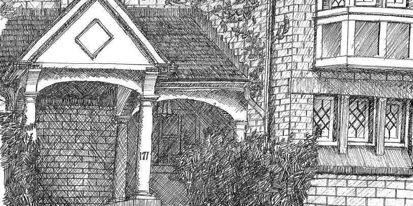 Toronto Rosedale Mystery Sketch